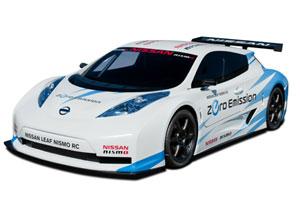 Nissan LEAF NISMO RC presente en el Salón de Nueva York 2011