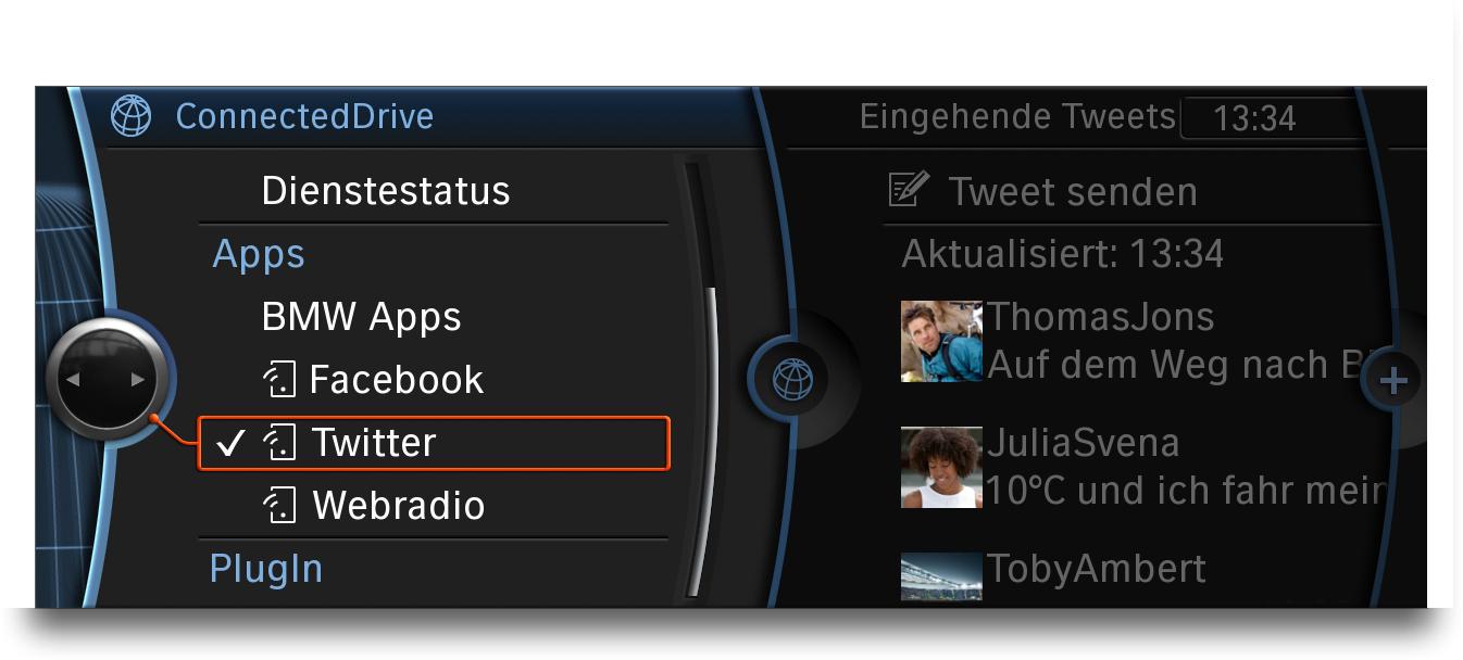Llega App, la nueva interfaz de BMW