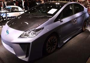 Prius Custom Concept Plus en el Salón de las maravillas