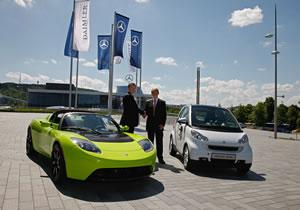 Daimler compra Tesla por su conocimiento en baterías