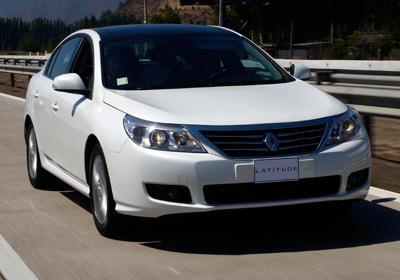 Renault Latitude: Inicia venta en Chile