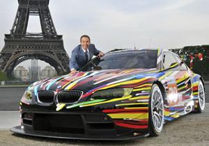 BMW M3 GT2 Art Car fue presentado en París