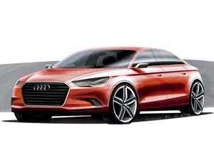 """Audi A3 concept: """"anillos"""" que crecen"""