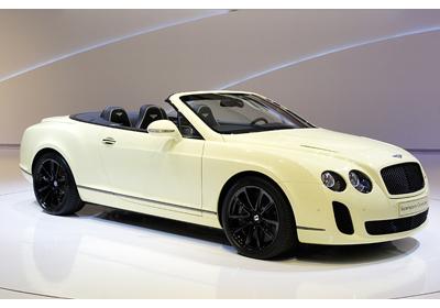 Bentley Continental Supersports 2011: El descapotable más rápido del mundo
