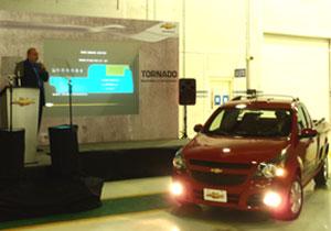 Presentan la nueva Chevrolet Tornado 2011