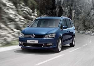 Nuevo VW Sharan: sobrio y elegante