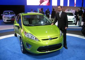 Se presenta el Nuevo Ford Fiesta 2011 en el Salón de Los Ángeles 2009