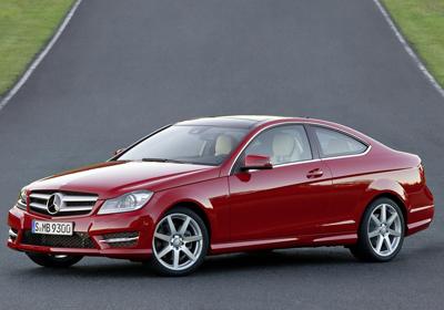 Mercedes-Benz C Coupé 2012: Primeras imágenes