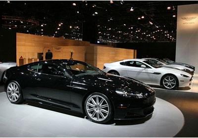 Aston Martin: Llega oficialmente a Chile