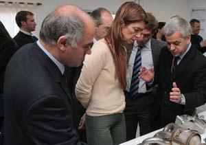 GM Argentina inauguró exhibición de autopartes
