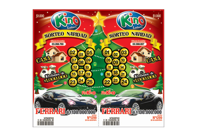 KINO regala un Ferrari para Navidad