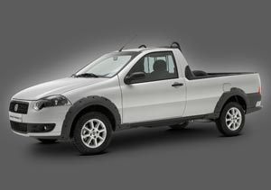 Fiat lanzó una nueva pick up Strada
