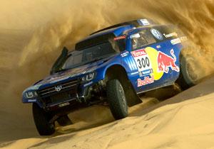 Volkswagen presenta su Race Touareg 3