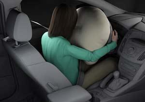 Ford y el airbag adaptativo