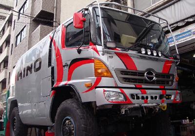 Team Hino en Dakar 2011