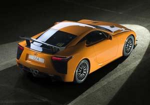 """Lexus LFA Nürburgring Edition: """"quema"""" el asfalto"""