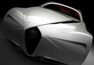 Alfa Romeo Executive Fastback Sedan 2017: locura futurista