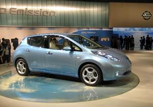 Nissan Leaf, el eléctrico que se robó el Salón de Tokio 2009
