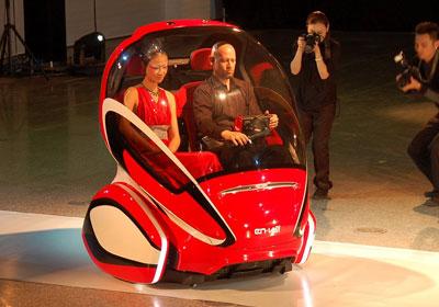GM EN-V: Impresionante reinvención del vehículo urbano