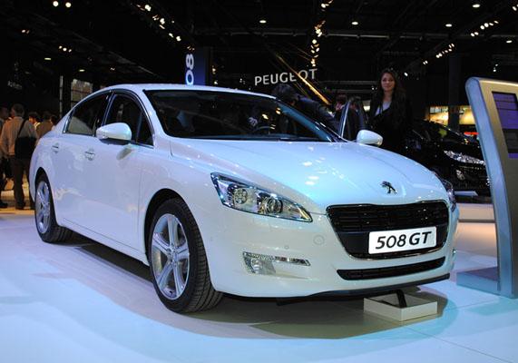 Peugeot 508 y 408 Turbo, buque insignia y tope de línea
