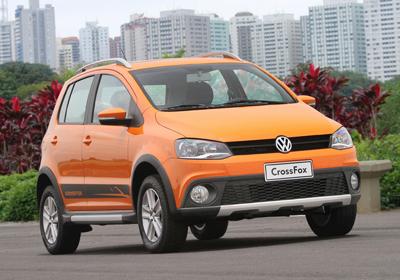 Volkswagen CrossFox 2011: Nuevo modelo hace su estreno en Chile