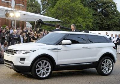Range Rover Evoque 2011: Nace el Baby Range