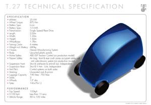 Gordon Murray revela los detalles de su auto eléctrico, el T.27