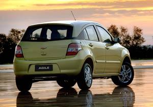 El Chevrolet Agile en la cuenta regresiva