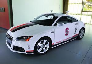 Audi Autonomous TTS, el auto que no necesita conductor