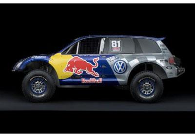 Volkswagen Touareg Race: Ganador del Rally Dakar 2009