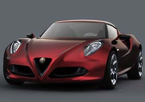 Alfa Romeo 4C Concept: belleza italiana