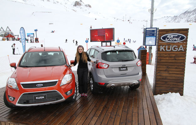 Ford Kuga y el ski extremo