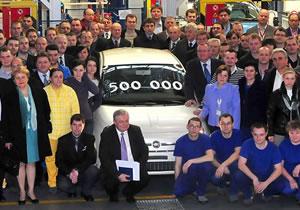 Se han fabricado 500,000 unidades del Fiat 500