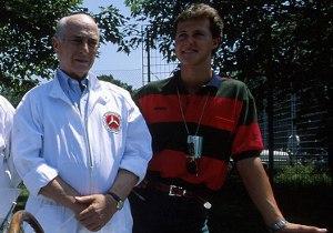 Schumacher recordó a Fangio en sus 100 años