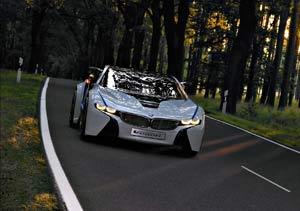 BMW Vision EfficientDynamics: impactante y atractivo