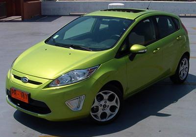 Prueba al Ford Fiesta Hatchback 2011