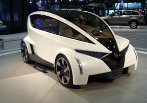 Honda P-NUT Concept se presenta en Los Ángeles 2009