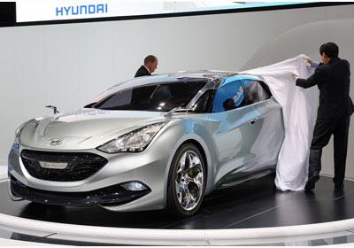 Hyundai i-flow Concept: Anticipos del Sonata i40 2011