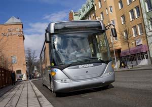 Scania Hybrid Concept: los bus del futuro