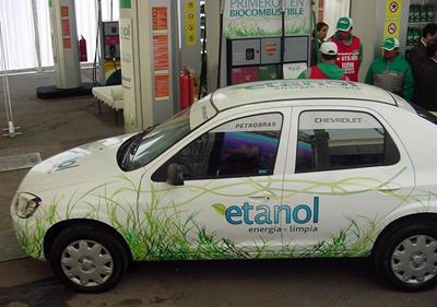 Chevrolet y Petrobras introducen el Biocombustible en Chile