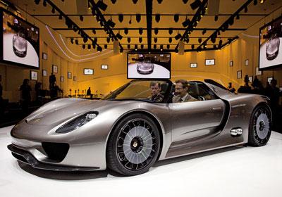 Porsche 918 Spyder Concept: Ingeniería que es obra de arte