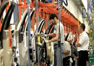 La producción de autos creció 17,5%