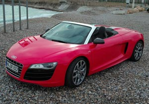 Audi R8 Spyder, primer contacto