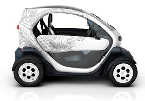 Renault Twizy, un pequeño eléctrico urbano.
