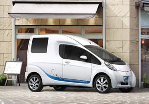 Mitsubishi i-MiEV Cargo Concept, un vehículo comercial eléctrico en el Salón de Tokio
