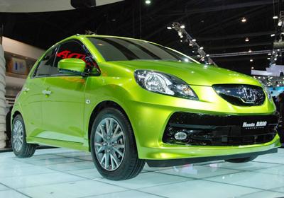 Honda BRIO: Respuesta al Chevrolet Spark GT