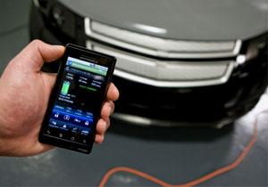 Chevrolet Volt presenta utilidades para los Smartphones