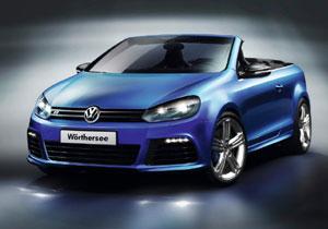 VW Golf R Cabriolet Concept debuta en Wörthersee 2011