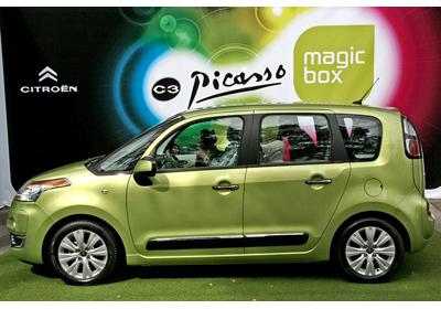 Citroën C3 Picasso: Estreno en Chile