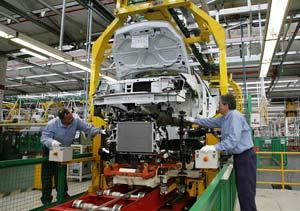 La producción automotriz fue récord en 2010